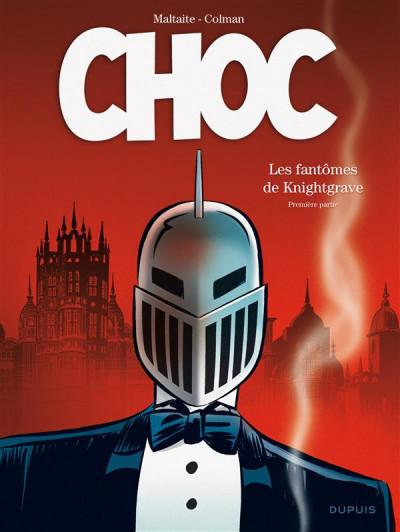 Couverture Choc - les fantômes de Knightgrave tome 1