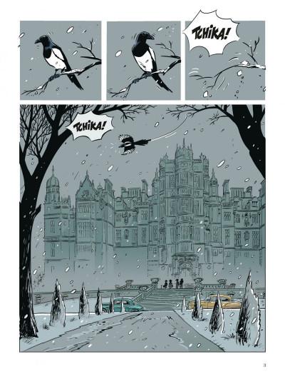 Page 2 Choc - les fantômes de Knightgrave tome 1