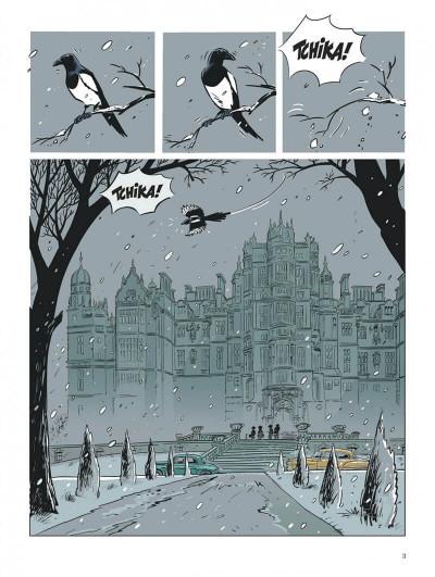 Page 3 Choc - les fantômes de Knightgrave tome 1