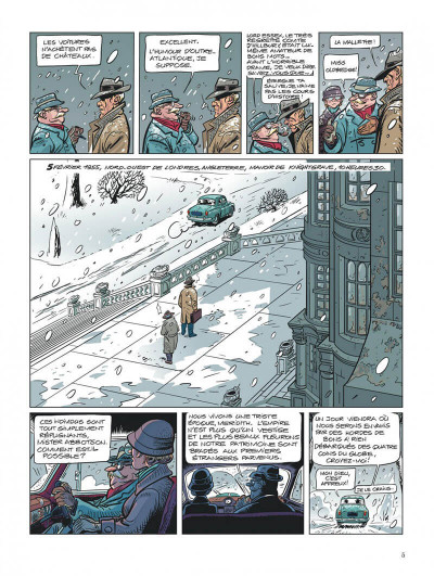 Page 5 Choc - les fantômes de Knightgrave tome 1