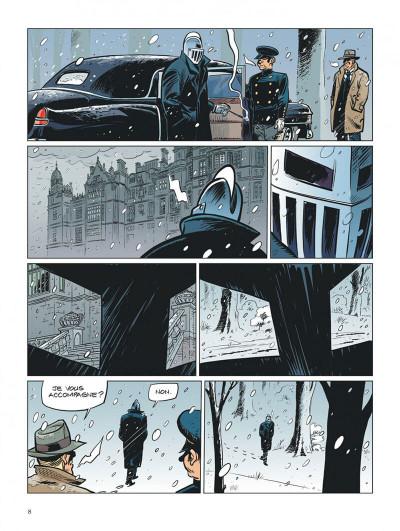 Page 8 Choc - les fantômes de Knightgrave tome 1