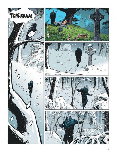 Page 9 Choc - les fantômes de Knightgrave tome 1