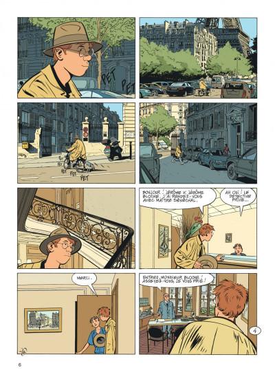 Page 6 Jérôme K. Jérôme Bloche tome 24