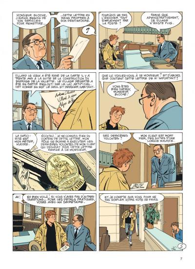 Page 7 Jérôme K. Jérôme Bloche tome 24