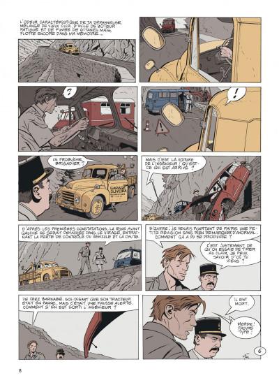 Page 8 Jérôme K. Jérôme Bloche tome 24