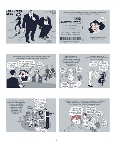 Page 8 Les autres gens tomes 14 et 15