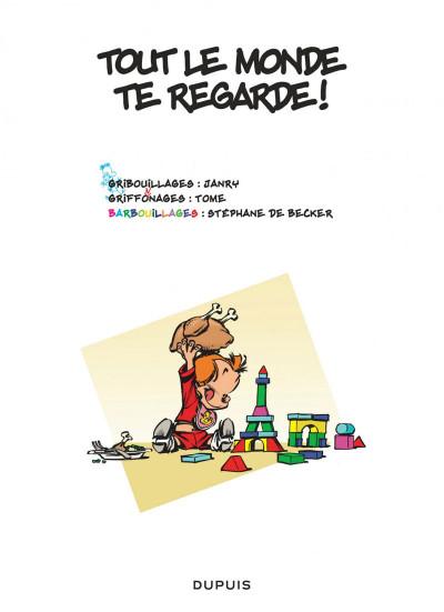 Page 1 Le petit Spirou tome 17