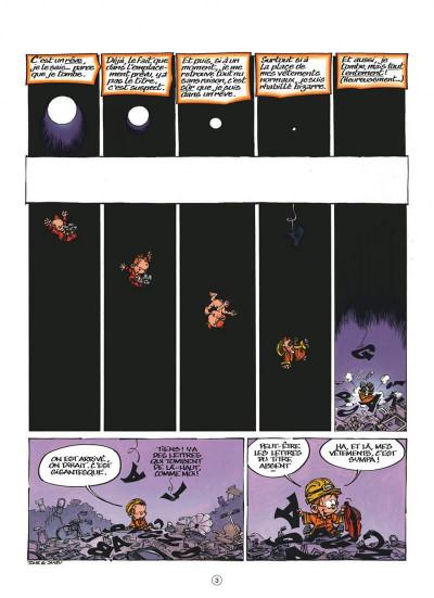 Page 3 Le petit Spirou tome 17