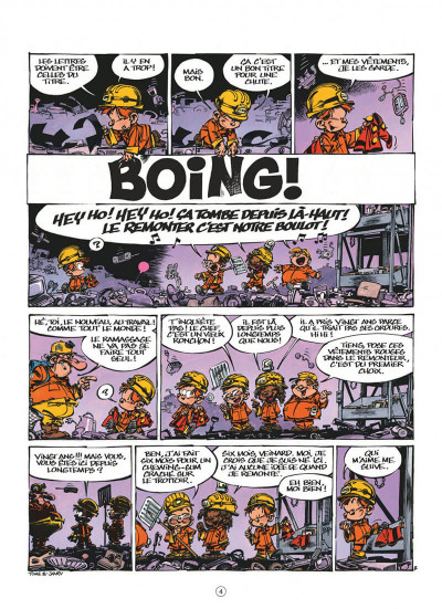 Page 4 Le petit Spirou tome 17