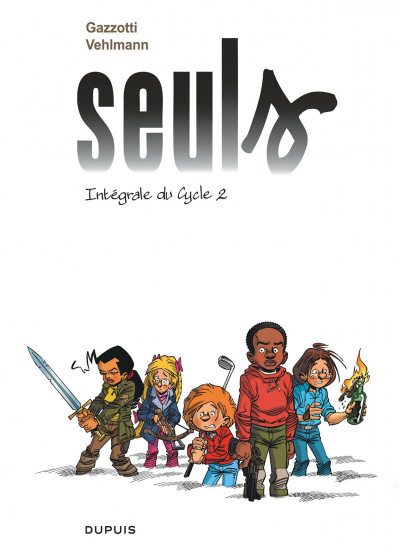 Couverture Seuls - intégrale tome 2 - cycle 2