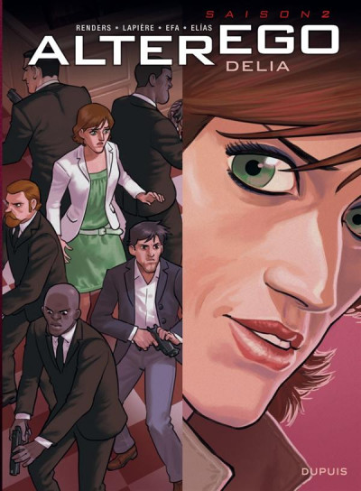 Couverture Alter Ego - Saison 2 Tome 3 - Delia