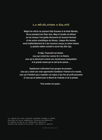 Page 2 Alter Ego - Saison 2 Tome 3 - Delia
