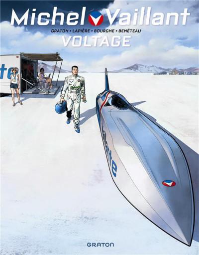 Couverture Michel Vaillant - nouvelle saison T.2 - voltage