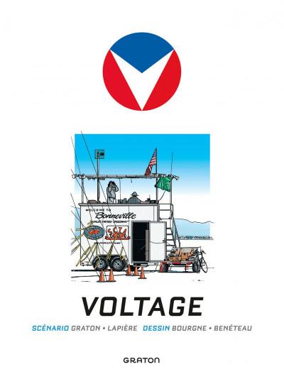 Page 1 Michel Vaillant - nouvelle saison T.2 - voltage