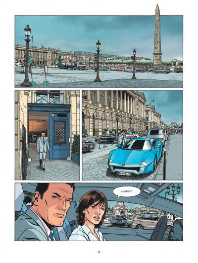 Page 3 Michel Vaillant - nouvelle saison tome 2 - voltage