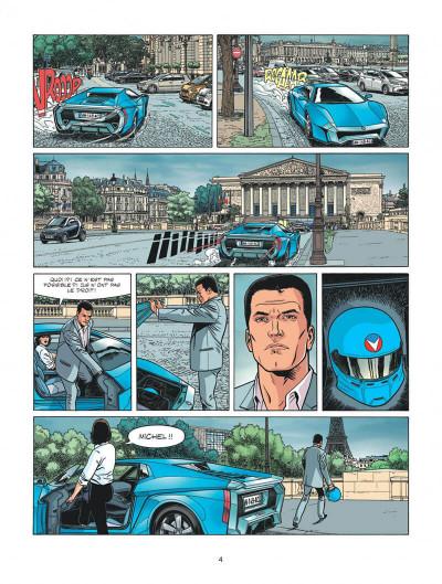 Page 4 Michel Vaillant - nouvelle saison tome 2 - voltage