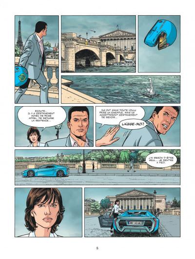 Page 5 Michel Vaillant - nouvelle saison tome 2 - voltage