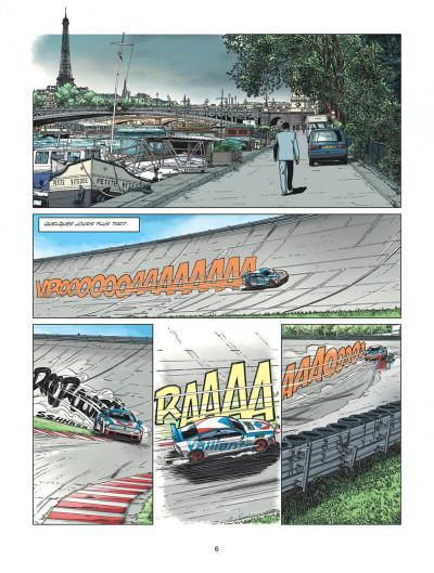 Page 6 Michel Vaillant - nouvelle saison tome 2 - voltage