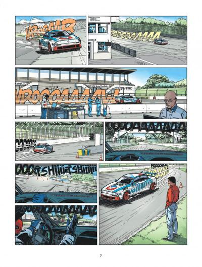 Page 7 Michel Vaillant - nouvelle saison tome 2 - voltage