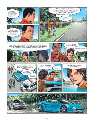Page 8 Michel Vaillant - nouvelle saison tome 2 - voltage