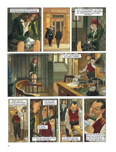 Page 8 Le vol du corbeau intégrale
