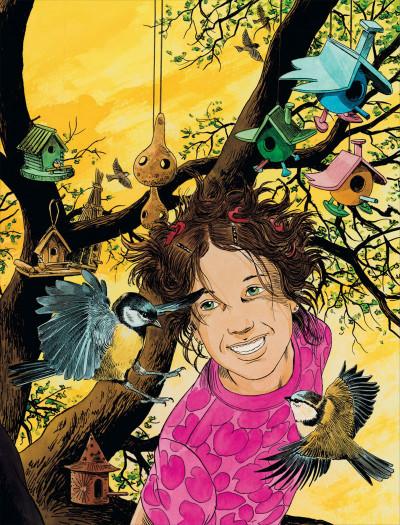 Page 5 l'assassin qui parle aux oiseaux - intégrale