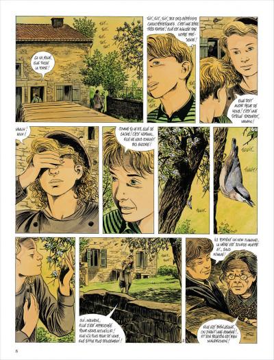 Page 8 l'assassin qui parle aux oiseaux - intégrale