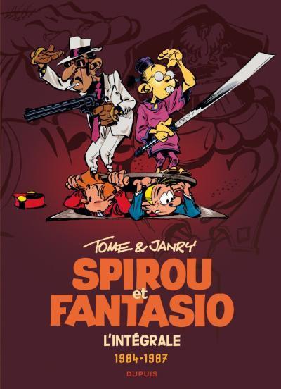 Couverture Spirou et Fantasio intégrale tome 14