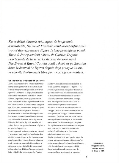 Page 5 Spirou et Fantasio intégrale tome 14