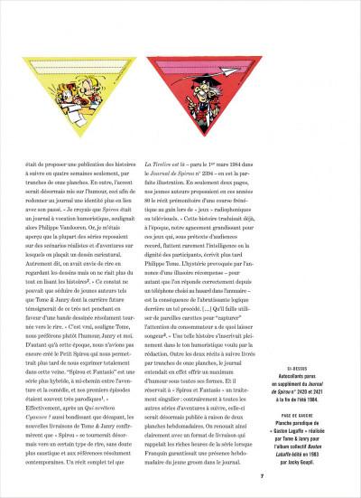 Page 7 Spirou et Fantasio intégrale tome 14