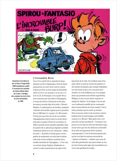 Page 8 Spirou et Fantasio intégrale tome 14