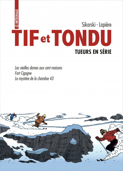 Page 1 Tif et Tondu ; INTEGRALE VOL.13 ; tueurs en serie
