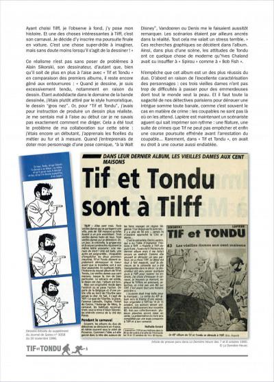 Page 6 Tif et Tondu ; INTEGRALE VOL.13 ; tueurs en serie