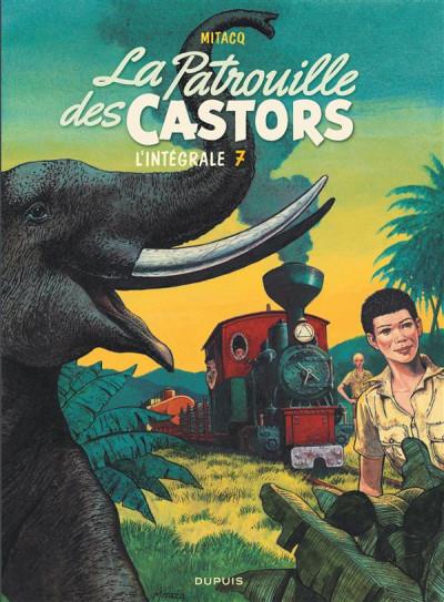 Couverture La patrouille des castors - intégrale tome 7