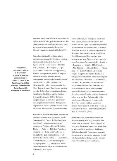 Page 8 La patrouille des castors - intégrale tome 7