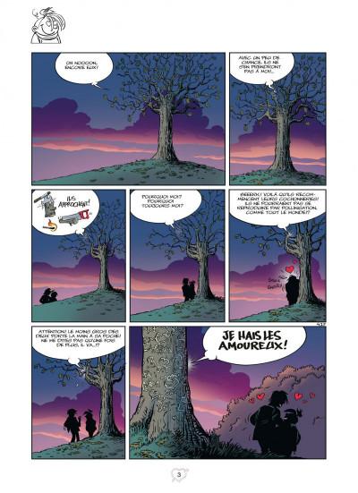 Page 3 Tamara - tome 12 - Loin des yeux…