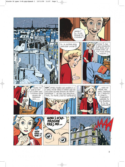 Page 3 Jérôme bloche tome 6 zelda