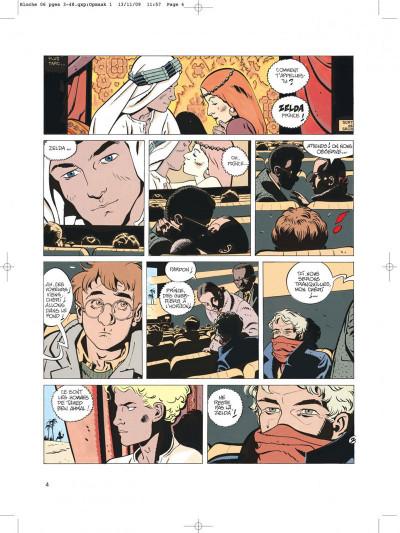 Page 4 Jérôme bloche tome 6 zelda