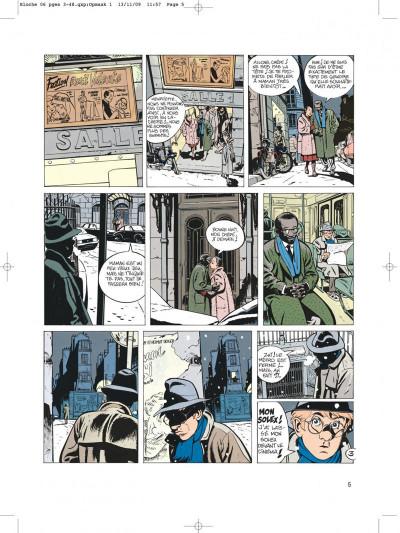 Page 5 Jérôme bloche tome 6 zelda
