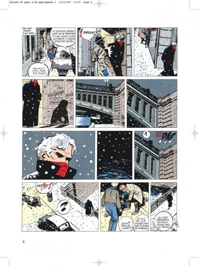 Page 6 Jérôme bloche tome 6 zelda