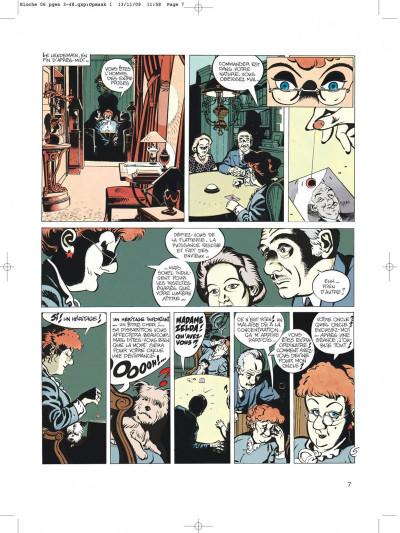Page 7 Jérôme bloche tome 6 zelda