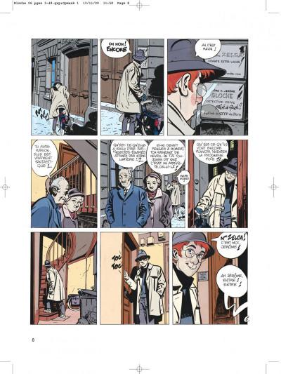 Page 8 Jérôme bloche tome 6 zelda
