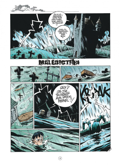 Page 4 Mélusine tome 18 - malédiction (nouvelle édition)