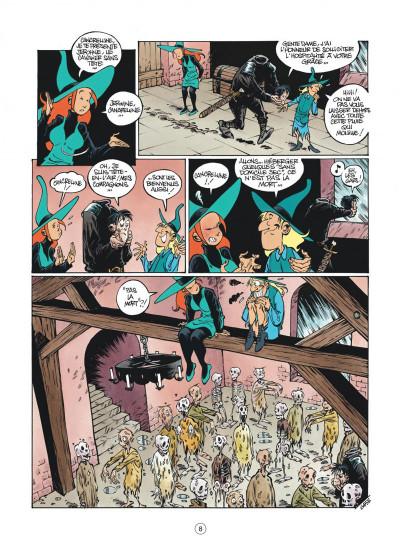 Page 8 Mélusine tome 18 - malédiction (nouvelle édition)
