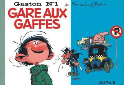 image de Gaston tome 1 - version italienne facsimilé - gare aux gaffes