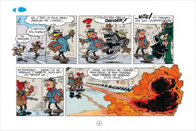 Page 4 Gaston tome 1 - version italienne - gare aux gaffes