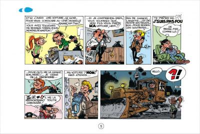 Page 5 Gaston tome 1 - version italienne - gare aux gaffes