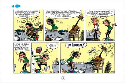 Page 9 Gaston tome 1 - version italienne - gare aux gaffes