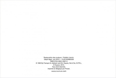 Page 1 Gaston tome 2 - version italienne -  gala de gaffes