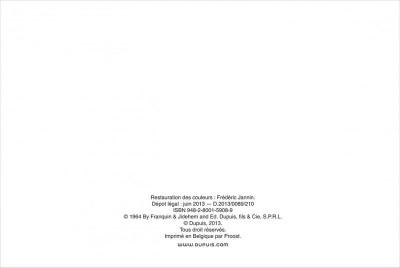 Page 1 Gaston tome 3 - version italienne - gaffes à gogo